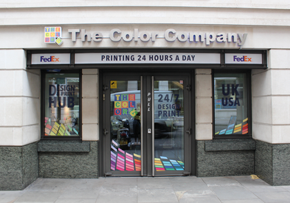Print management - Curzon street - The Color Company
